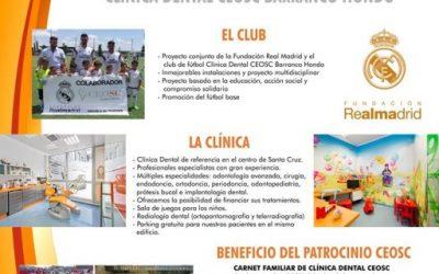 Patrocinio Deportivo con el Club de Fútbol Barranco Hondo
