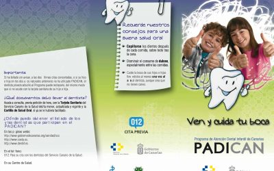 El Colegio de Dentistas renueva el compromiso con la salud bucodental de los niños a través del PADICAN